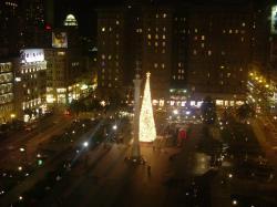 ユニオンスクエアのクリスマスツリー06