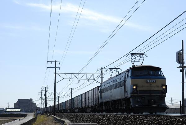 2071レ  EF66-9