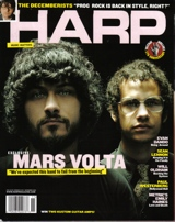 Omar and Cedric Harp Magazine Nov. 2006