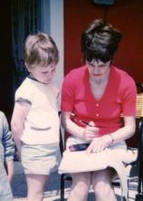 Phil and Mum