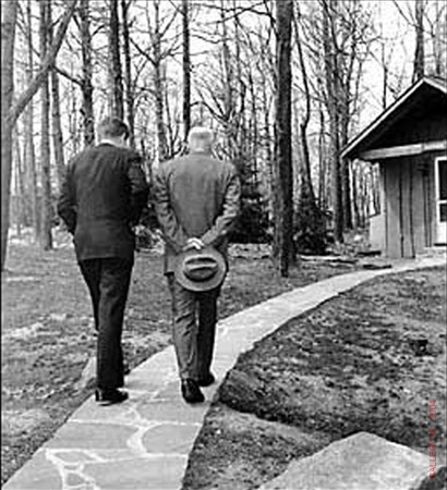 Kennedy_and_Eisenhower_Camp_David1961_Gelatin_Silver1