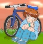 子供の頃の私にとって補助輪なしの自転車にのることは「試練」のひとつだった。