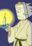 タイトルはエルトン・ジョン「Candle in the wind」より。炎、揺れていないんですが(汗)