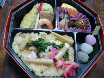 20090324春爛漫弁当(神田明神下みやび)-1