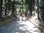 中尊寺への道のり
