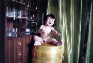 Tommy幼少期(笑顔)