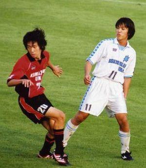 02 Jan 08 - Hayato Hashimoto in action for Komazawa
