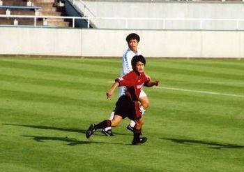 02 Jan 08 - Takuro Nishimura in white against Masaki Fukai