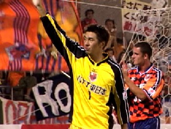 03 Apr 07 - It's former keeper Atsushi Shirai with Bare
