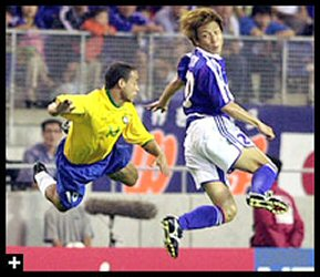 03 Mar 06 - Yasuhiro Hato takes on Brazil