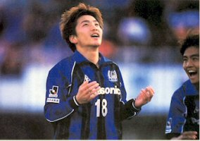 03 Mar 06 - Kota Yoshihara in happier times at Gamba Osaka