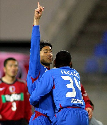 04 Apr 07 - So do you think that Kofu or Kashima have just scored?