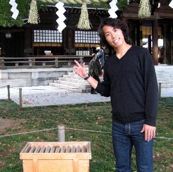 04 Apr 07 - Farrah Fawcett Nishimura hopes for good luck