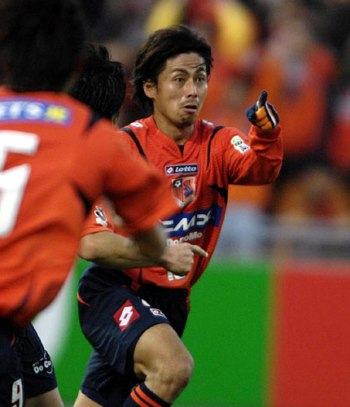 04 Dec 07 - Goal hero Masato Saito. An unusual collection of words there