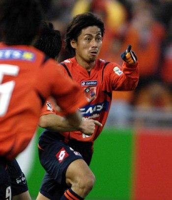 04 Dec 07 - Goal hero Masato Saito. An unusual collection of words there