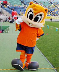 04 Mar 06 - The coolest mascot in the J-League, obviously