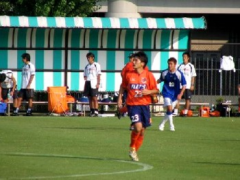 05 Aug 06 - Kota Yoshihara, alert for Ardija