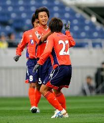 06 Mar 06 - Omiya's first scorer of 2006, Daisuke Tomita