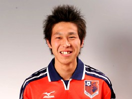 09 Dec 05 - New defender Haruki Nishimura