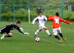 11 Jun 07 - Naoto Sakurai!!! Actually scoring!!! A goal!!!