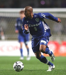 12 Mar 06 - Scorer of Fukuoka's goal and tormentor of Omiya's back four, Alex