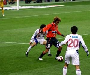 12 Mar 07 - Manabu Wakabayashi gets his first run out of the season