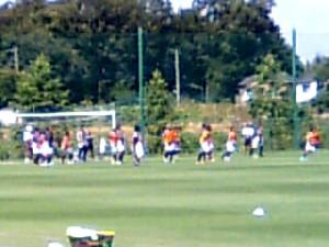 13 Aug 07 - Practicing set plays