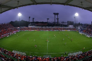 15 Nov 07 - A fisheye view of the new Omiya Park