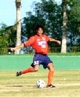 16 Feb 06 - Yoshiyuki Kobayashi in action vs Kobe