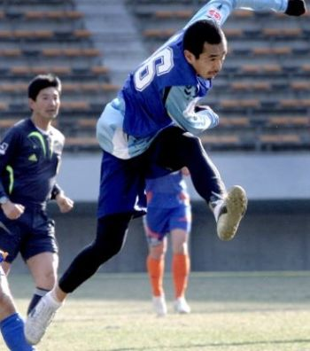 16 Jan 08 - Kubo lets fly in the J-League tryouts