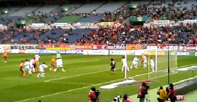 18 Mar 06 - Daigo's free kick