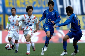 18 Mar 07 - Squirrels Man of the Match Kota Yoshihara
