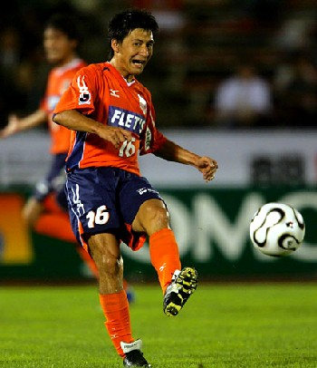 19 Jul 06 - Squirrels goal hero Tatsunori Hisanaga