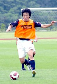 20 Jul 07 - Takashi Hirano in training