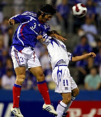 20 Jun 07 - Naoki Matsuda in action for Marinos against Gamba