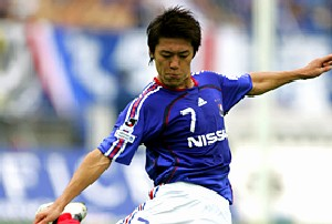 20 May 07 - Hirano in action for Marinos last season