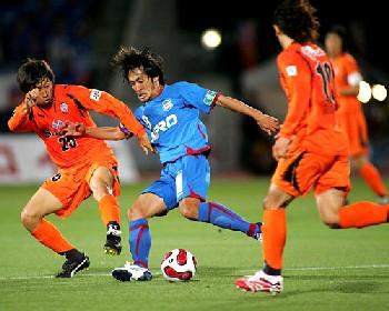 20 May 07 - S-Pulse battle to a 0-0 draw at Kofu on Saturday