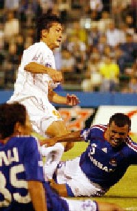 23 Aug 06 - Yoshihara's moment of glory