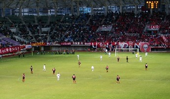 24 Dec 05 - And at a packed Sendai Stadium...