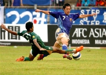 24 May 07 - Umesaki in the Asian Youth Championship vs Saudi Arabia last year