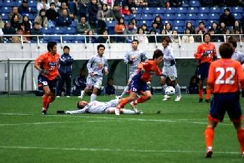 26 Nov 06 - Yosuke Kataoka in action