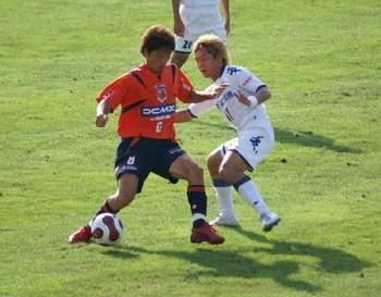 26 Sep 07 - A rare shot of Yosuke Kataoka in action
