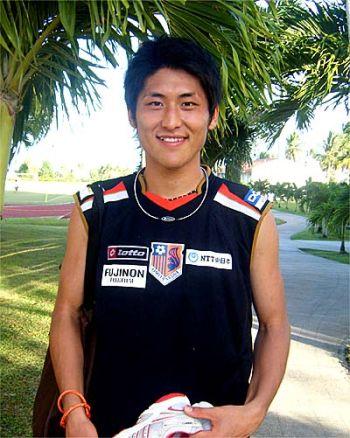 31 Jan 08 - Ex-Gamba Osaka defender Daiki Niwa