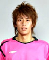 Kenji Tanaka, one of - erk - five keepers at Sagan Tosu