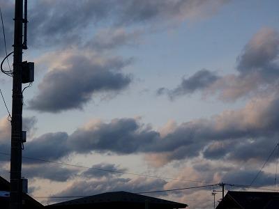 M町の夕景