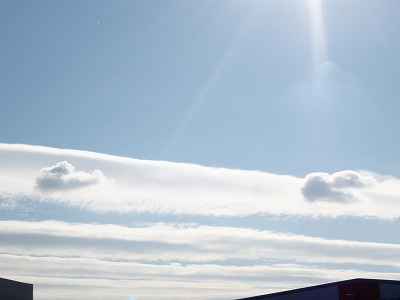 雲の中に雲