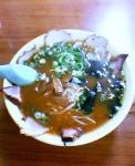 朝月@チャーシュー麺