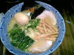 麺屋五鉄@塩味味玉チャーシュー