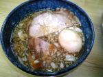 常勝軒笂井店 チャーシューづけ麺 つけだれ 07.10.21