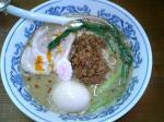 いち林飯店 胡麻味+味玉 08.1.5